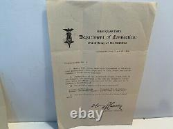 Civil War Brady CDV's Capt. Zenas Bliss, 28th US Colored Troops, Kit Bag, Letter