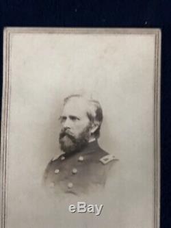 Civil War CDV Col Edmund L. Dana 143th Pennsylvania Volunteers by Mathew Brady