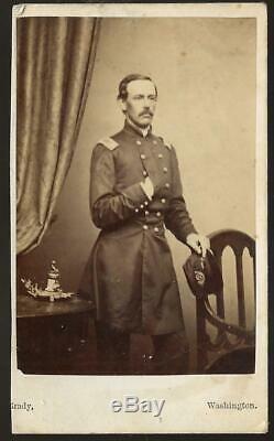 Civil War CDV Colonel Isaac M Tucker 2nd New Jersey Vols KIA Gaine's Mills Va