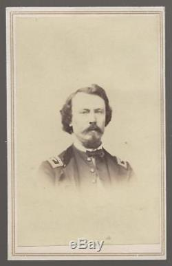Civil War CDV Colonel Patrick E Burke 66th Illinois SS KIA Resaca Ga