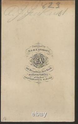 Civil War CDV Confederate Albert G Jenkins KIA