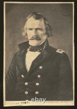 Civil War CDV Confederate Albert Sydney Johnston KIA Shiloh Bendann Bros