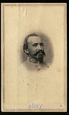 Civil War CDV Confederate Colonel John Hunt Morgan by Vannerson Jones Richmond