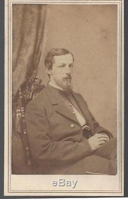 Civil War CDV Lt Colonel Henry Curtis JR, 37th Illinois Vols and Adjutant Gen'l