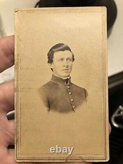 Civil War CDV Of Pennsylvania MIA Soldier