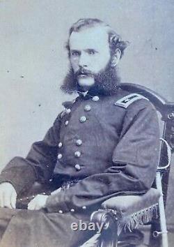 Civil War CDV Photo Herron Brady Negative Iowa Medal of Honor Pea Ridge AK