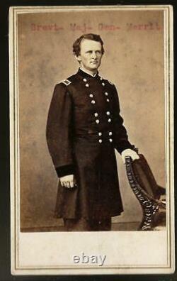 Civil War CDV Union Cavalry General Wesley Merritt