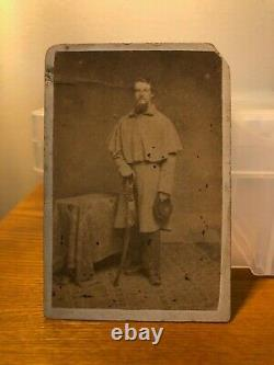 Civil War CDV Union Cavalry Soldier with Sabre