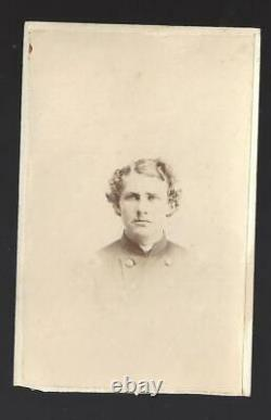 Civil War CDV Union Colonel/BBG Edward H Ripley 9th Vermont Vols Autographed