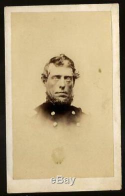 Civil War CDV Union Colonel BBG Sylvester G Hill 35th Iowa Vols KIA Nashville