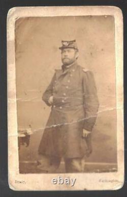 Civil War CDV Union Colonel Henry L Cake, 25th & 96th Pa Vols