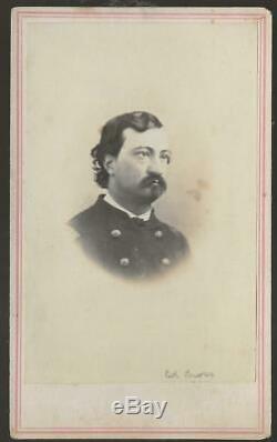 Civil War CDV Union Colonel Richard E Cross 5th New Hampshire Volunteer Infy