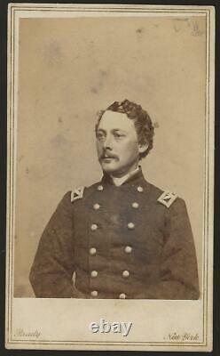 Civil War CDV Union Colonel William O Stevens 72nd NYVI Excelsior Brigade KIA