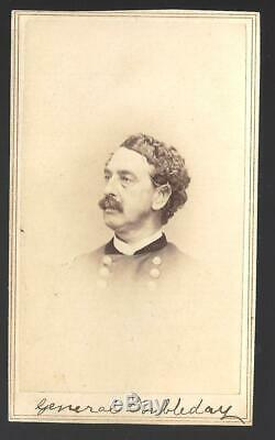 Civil War CDV Union General Abner Doubleday, Baseball