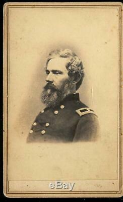 Civil War CDV Union General John E Smith