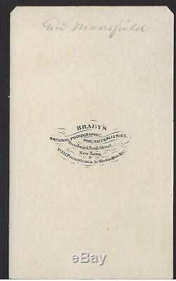 Civil War CDV Union General Joseph Mansfield KIA Antietam by Brady