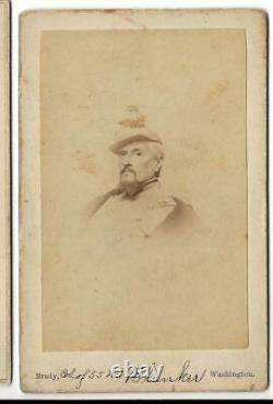 Civil War CDV Union General Regis de Keredern De Trobriand Gettysburg Commander