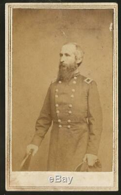 Civil War CDV Union General Thomas Wood Army of the Cumberland