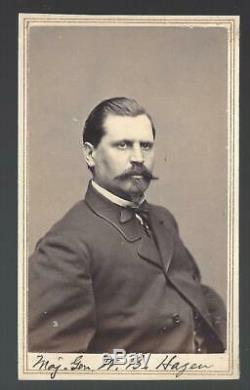 Civil War CDV Union General William B Hazen