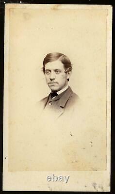 Civil War CDV Union Lt William Prescott Mudge 33rd Mass Vols XI Corps KIA