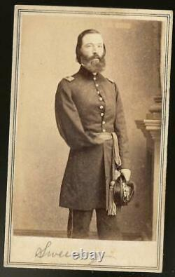 Civil War CDV Union One Armed General Thomas Sweeney Fenian