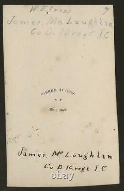 Civil War CDV Union Soldier James McLaughlin 10th Reserve Corps