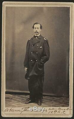 Civil War CDV Union Surgeon Alfred Henry Thurston XII/XX Corps