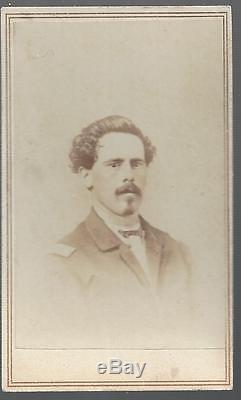Civil War CDV of Capt John Toms, 27th OVI & 64th USCT