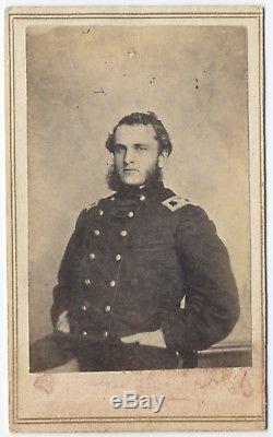 Civil War CDV of Col. Strong Vincent KIA Gettysburg