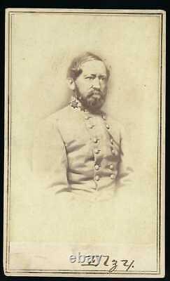 Civil War CDV of Confederate General Arnold Elzey