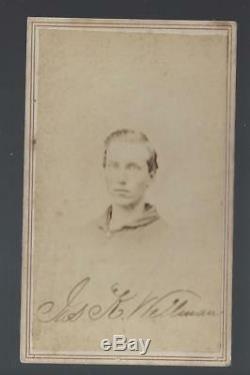 Civil War CDV of Private James K Wellman 23rd Michigan Vols