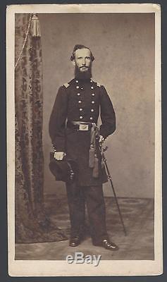 Civil War CDV of Union Colonel Thomas Franklin McCoy 107the Pa Vols