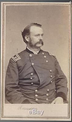 Civil War CDV of Union General Lovell Rousseau