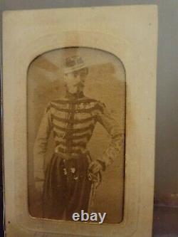 Civil War CDV of possible Zouave Confederate