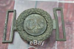 Civil War CS Confederate Belt Buckle Authentic See Photos