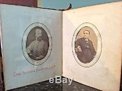 Civil War Capt Samuel Wilkes KIA Manassas ++ Photo Album w Confederate Soldiers