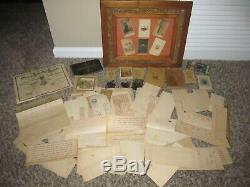 Civil War Colonel Archive Photos Maps Documents Handwritten Typed 27th Mass. POW