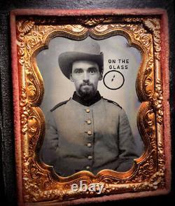 Civil War Confederate Tintype