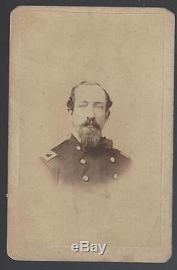 Civil War Era CDV Colonel Samuel P Spear 11th Pa Cavalry