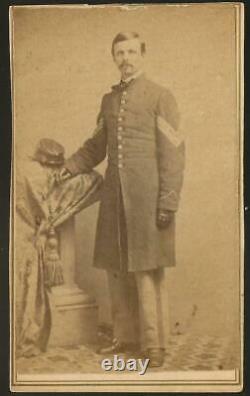 Civil War Era CDV Enoch G Adams Durham NH 2nd New Hampshire Vols