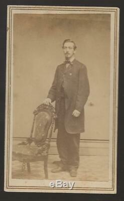 Civil War Era CDV Henry Brown 140th NYVI Zouave Regt, Died in Andersonville