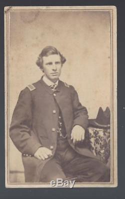 Civil War Era CDV Lt George M Townsend 10th Massachusetts Light Artillery