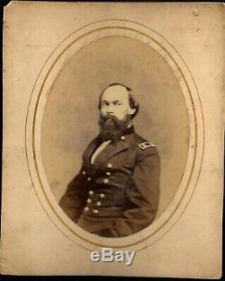 Civil War Era Large albumen Union General Gordon Granger Michigan