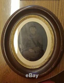 Civil War-Era Photograph of Corporal Matthew Hale Love, Thomas's Legions, NC