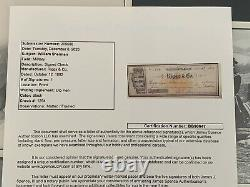 Civil War General William Sherman Autographed Check JSA LOA Framed With Photos