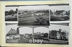 Civil War Gettysburg Battlefield views c. 1880's souvenir photo album