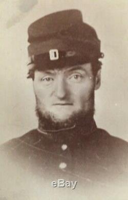 Civil War Gettysburg Vermont CDV Alexander Tripp 15th Regt. Gettysburg