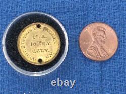 Civil War ID Disc