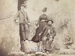 Civil War Photograph Devil's Den Gettysburg Mumper Veteran Photo 1880's