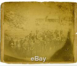 Civil War /Post War Veteran's Reunion 1st Conn. Independent Battery Artillery